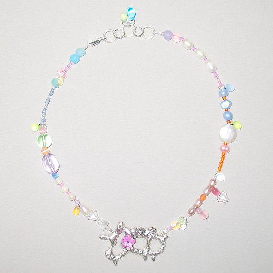 Amoeba Necklace 12
