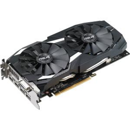 Asus DUAL-RX580-O8G Radeon RX 580 Graphic Card