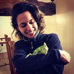 Chameleon and Francesca