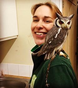 Hannah and Owl