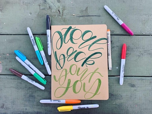 steal back your JOY journal