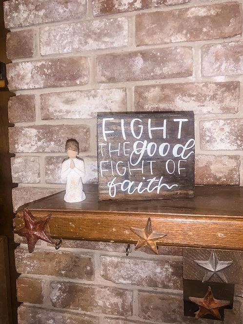 good fight of faith