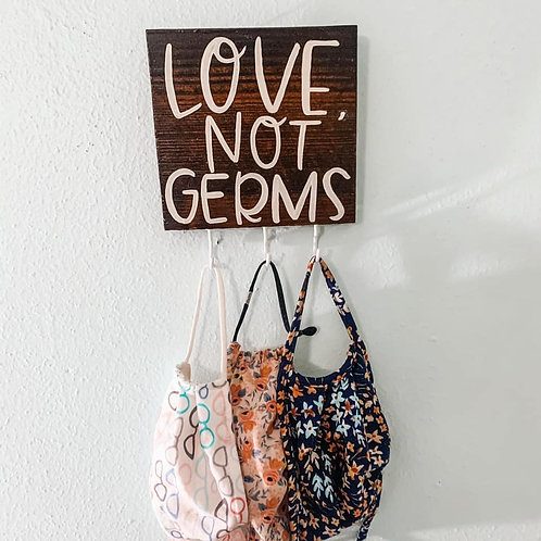 small LOVE, not germs