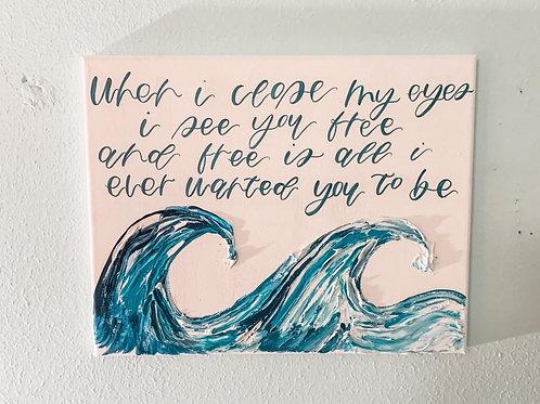 I see you free