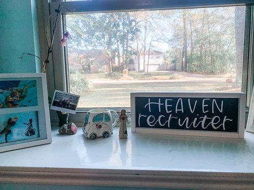 heaven recruiter