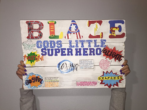 Gods little superhero