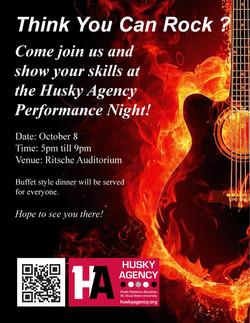 Husky Agency Performance Flyer