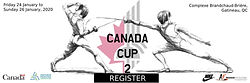 The second Canada Cup of the season is January 24-26, 2020 in Gatineau, Quebec. A large number of EFC fencers will be travelling to attend! Tune in to the Canadian Fencing Federation's social media accounts for tournament updates.