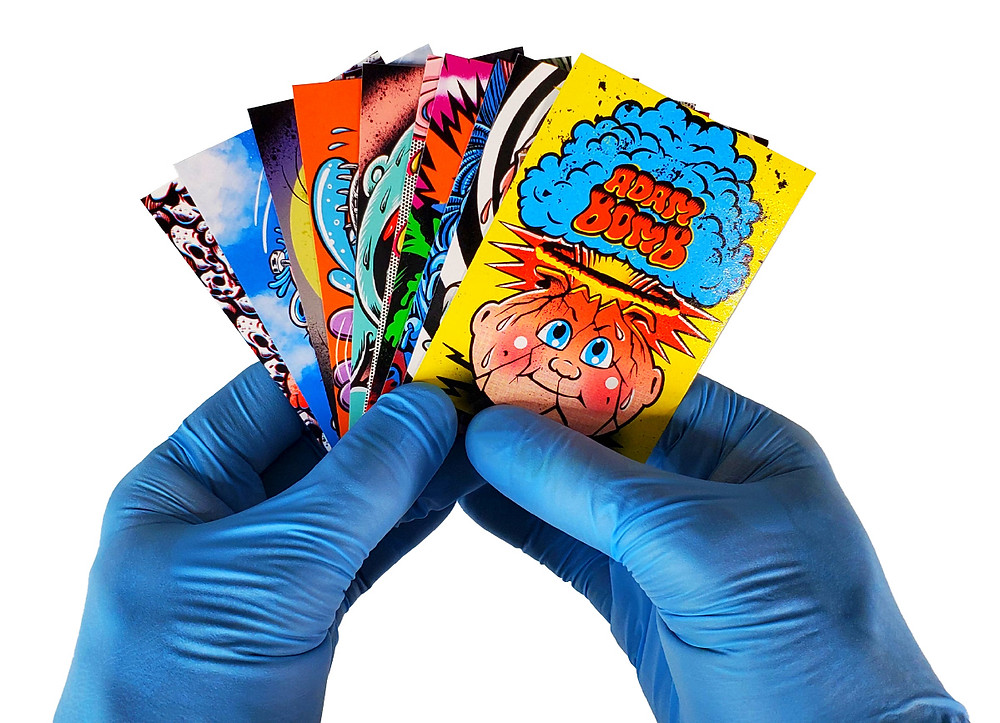 2020 Garbage Pail Kids Skateboard Stickers