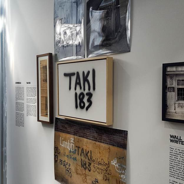 Taki 183 Installation at the Beyond the Streets Graffiti Exhibition Los Angeles 2018