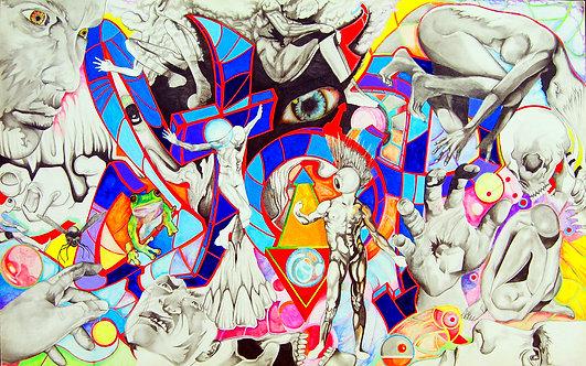 Graffiti Brainstorm Drawing