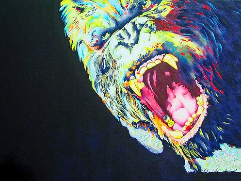 King Kong Acrylic Painting