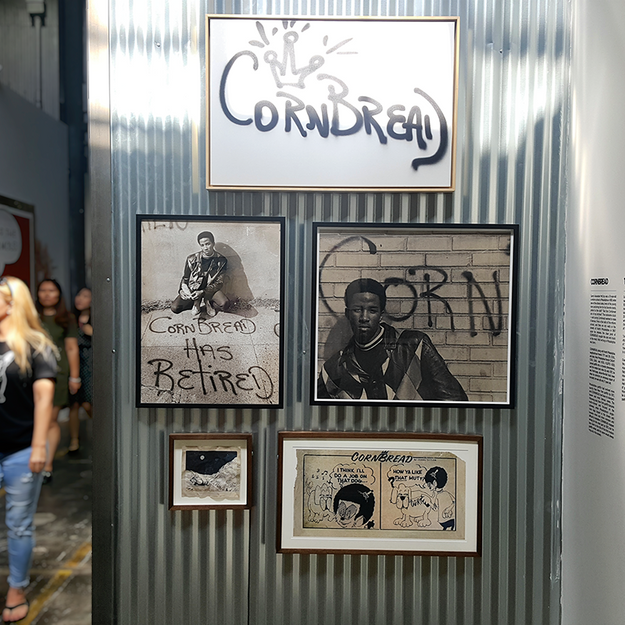 Cornbread Installation at the Beyond the Streets Graffiti Exhibition Los Angeles 2018