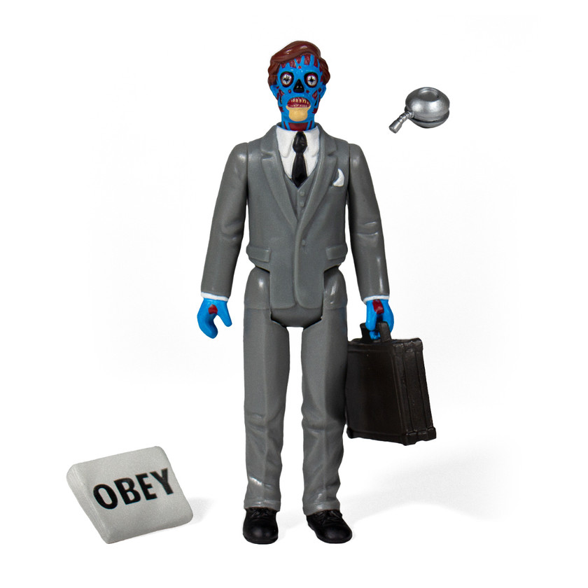 Super 7 They Live Male Ghoul ReAction Figure