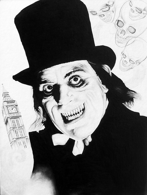 London After Midnight Drawing