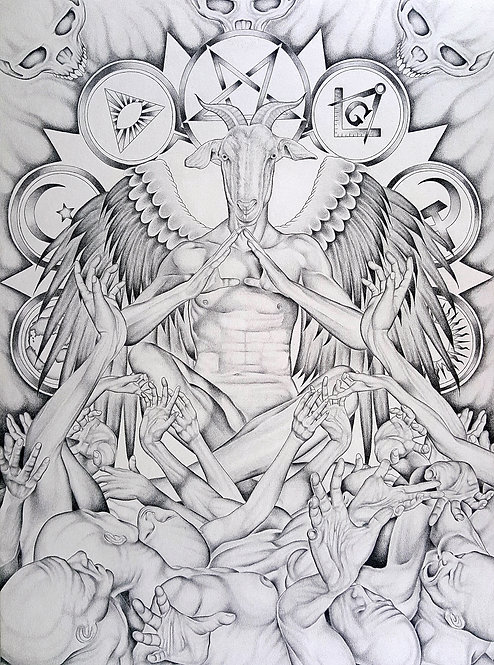 Graven Image Drawing