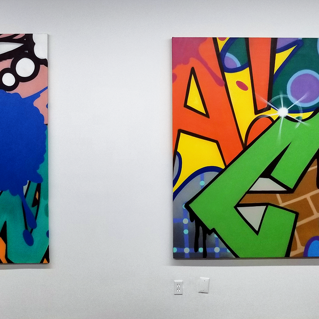 CRASH at the Beyond the Streets Graffiti Exhibition Los Angeles 2018