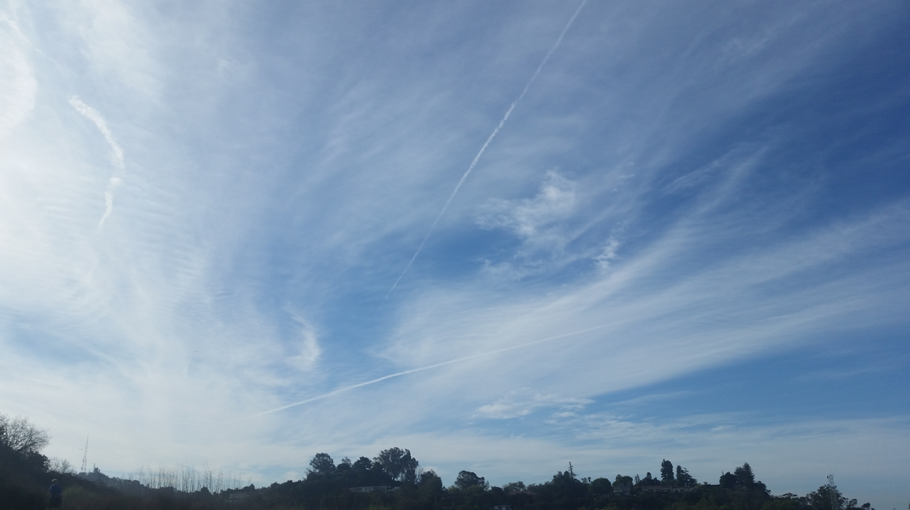 Geoengineering stratagems are dangerous and irresponsible. The air is being bombarded with highly toxic particulates.