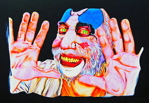 Captain Spaulding Painting | SOLD