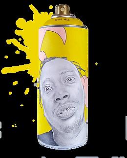Wu-Tang Spray Can Art