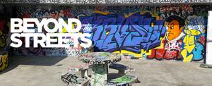 Beyond the Streets graffiti Exhibition Header Design
