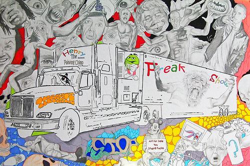 Freak Show Drawing