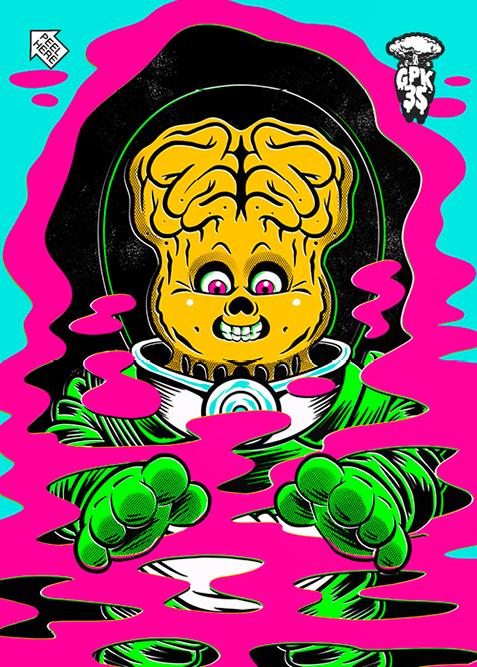 GPK Untold Stories Alien Ian