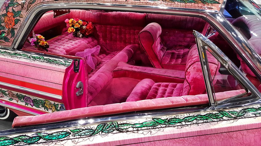 World Famous Gypsy Rose Lowrider with Adobe Post-Production