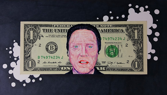 Christopher Walken Currency Collectible