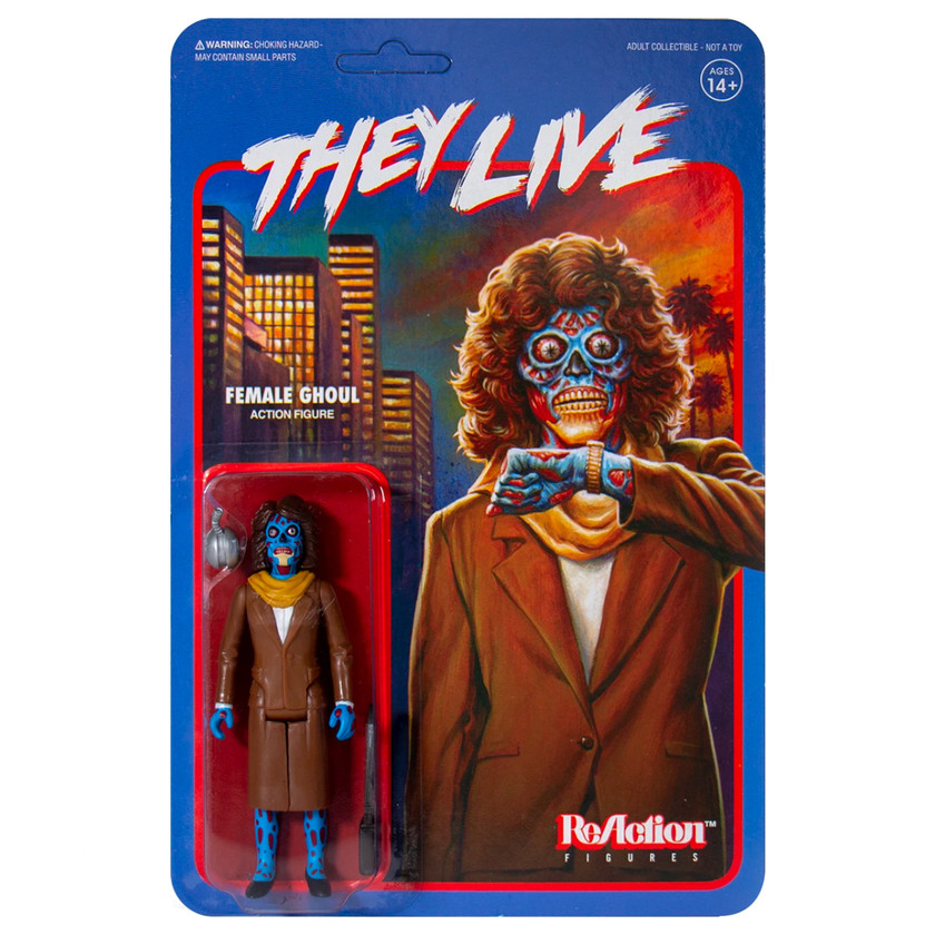 Super 7 They Live Female Ghoul ReAction Figure