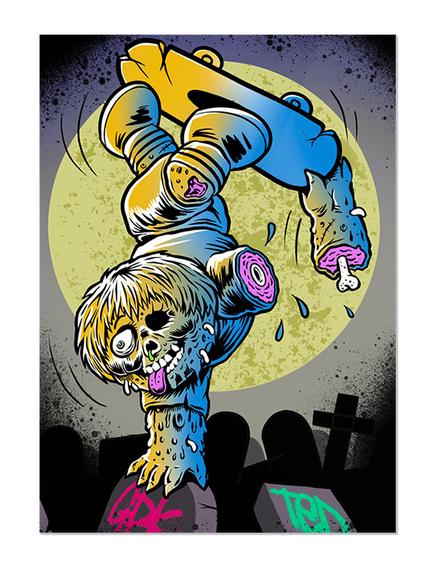 GPK Dead Ted Skate Card