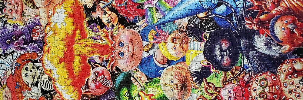 Garbage Pail Kids 35th Anniversary Yuck Jigsaw Puzzle