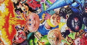 😱 1000 Piece Garbage Pail Kids Yuck Puzzle Reactions