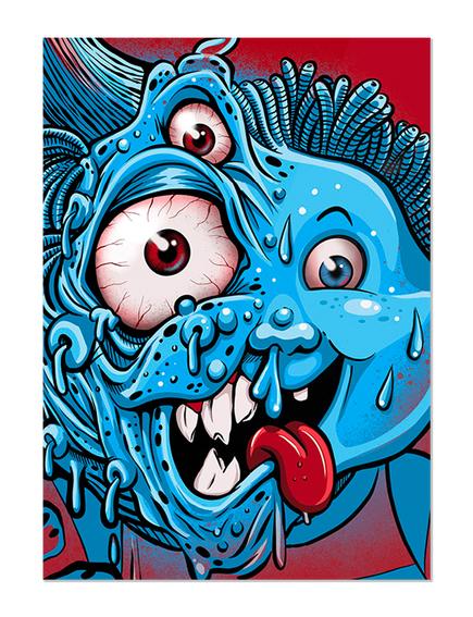 GPK Beasty Boyd Skate Card