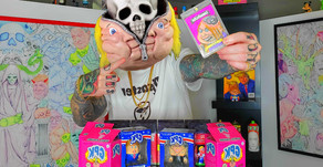 🤡 My Insane Garbage Pail Kids Unboxing Reactions.