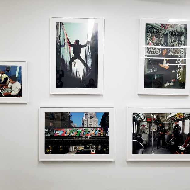 Martha Cooper Photography at the Beyond the Streets Graffiti Exhibition Los Angeles 2018