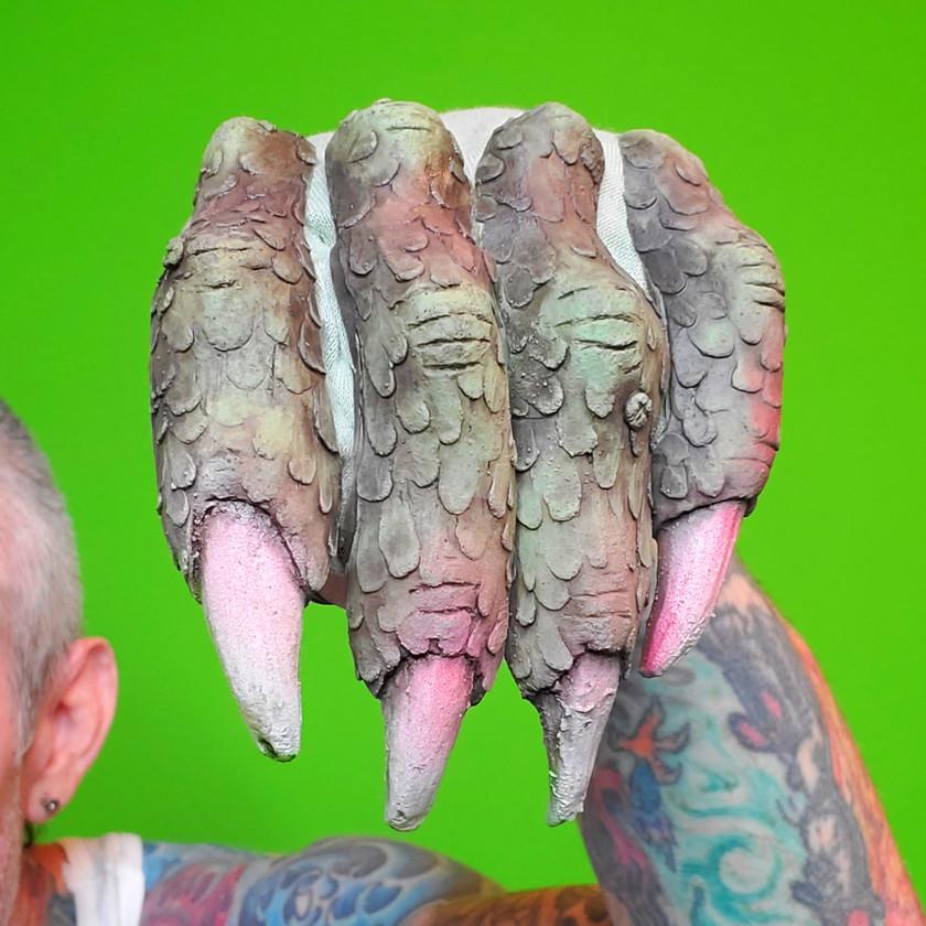 Green-Screen Alien Hand