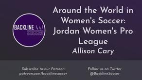 Around the World in Women's Soccer: Jordan Women's Pro League