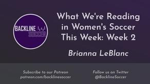 What We're Reading in Women's Soccer This Week: Week 2