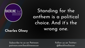 Standing for the anthem is a political choice. And it's the wrong one.