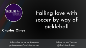 Falling love with soccer by way of pickleball