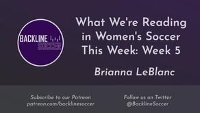 What We're Reading in Women's Soccer This Week: Week 5