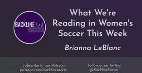 What We're Reading in Women's Soccer This Week: Week 1