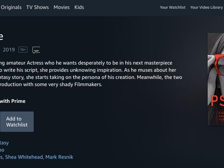 """""""Pseudo Love"""" is now on Amazon Prime!"""