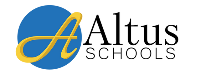 Altus Schools Logo with Blue Circle_Full