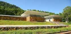 Vista frontal Centro de Visitantes