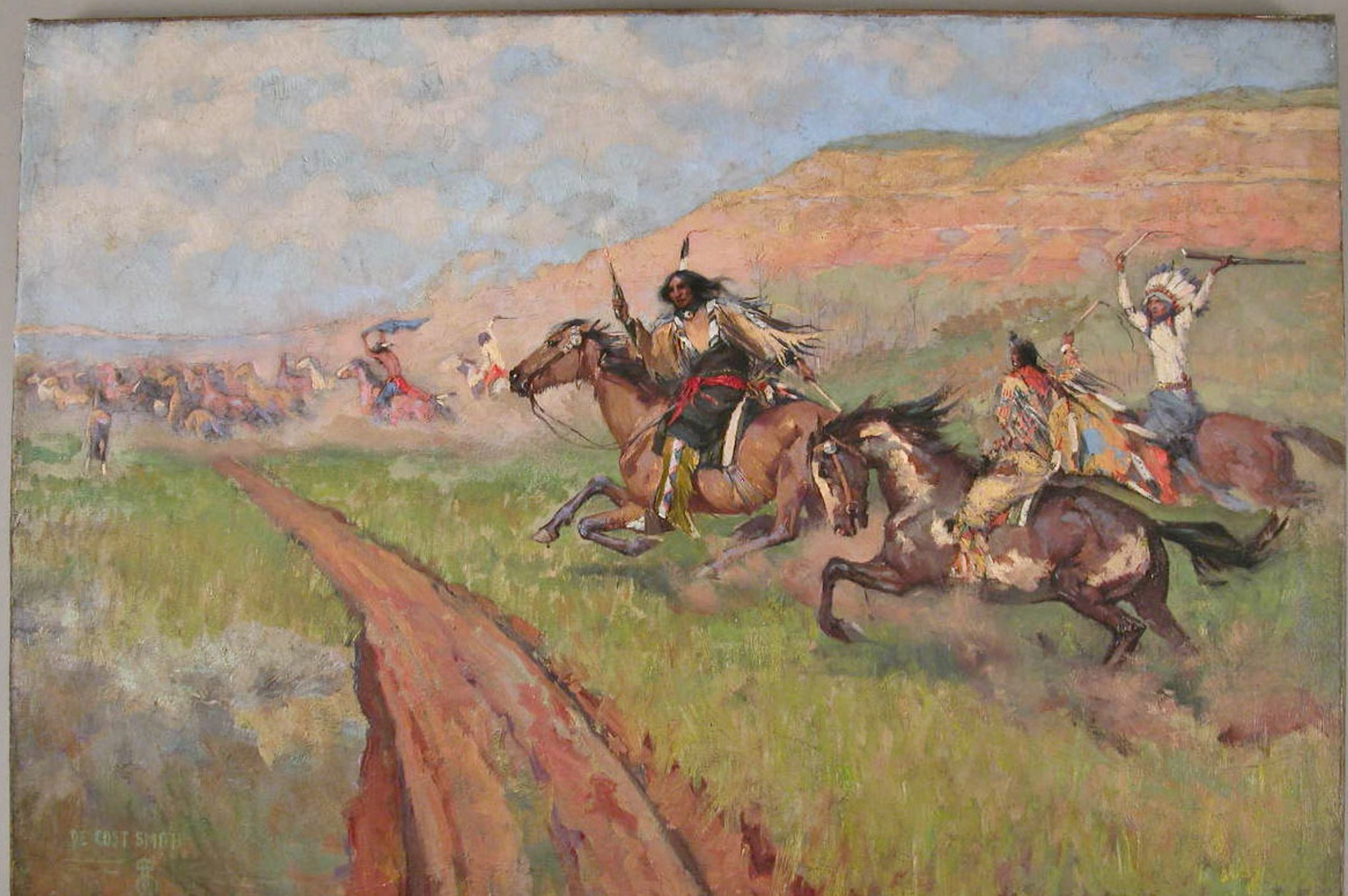 Horse Stealing - DeCost Smith