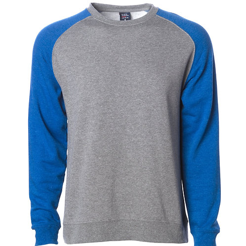 MEN'S LIGHTWEIGHT FITTED RAGLAN CREW