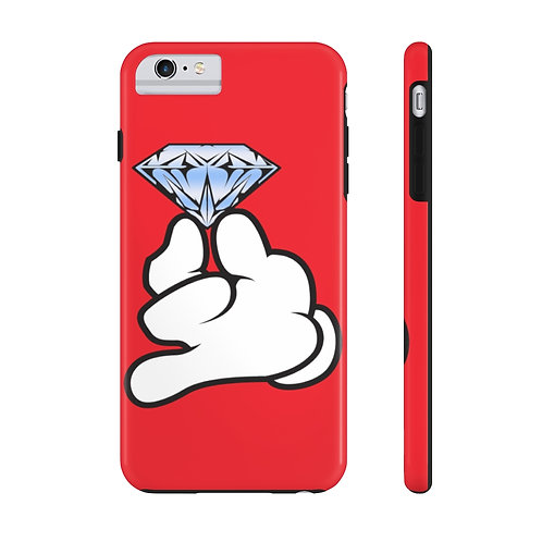 Red Flawless Bad B!tch  Mate Tough Phone Cases