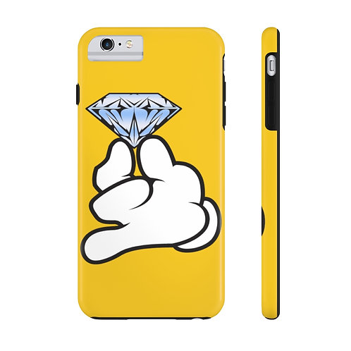 Yellow Flawless Bad B!tch  Mate Tough Phone Cases